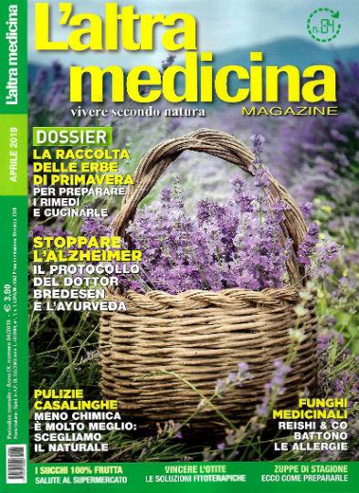 l'altra medicina aprile 2019 in edicola