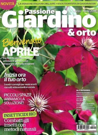 passione giardino & orto marzo 2019 in edicola