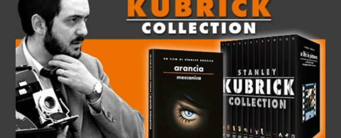 stanley kubrick collection in edicola