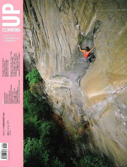up climbing marzo 2019 in edicola