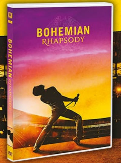 bohemian rhapsody dvd in edicola