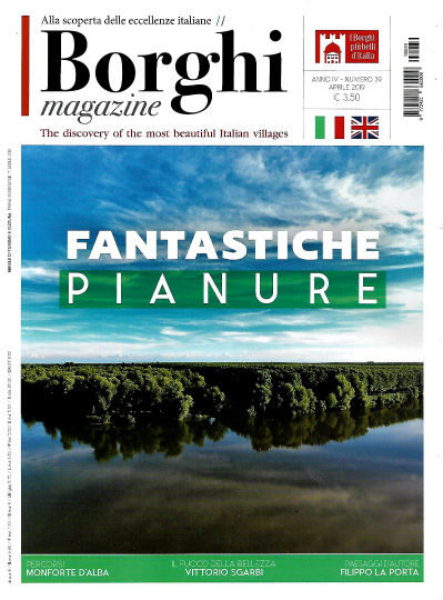 borghi magazine aprile 2019 in edicola