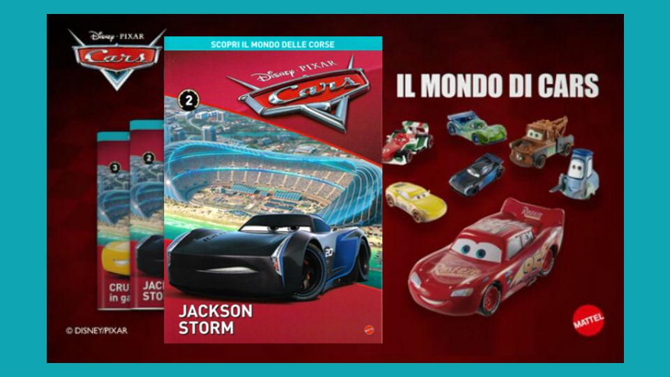 disney pixar cars collection 2019 seconda uscita in edicola
