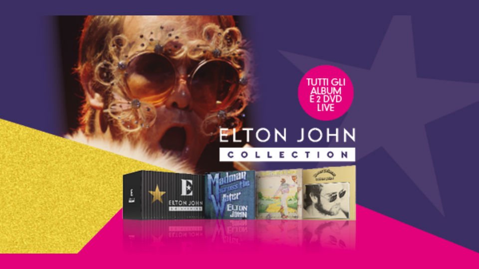 elton john collection in edicola
