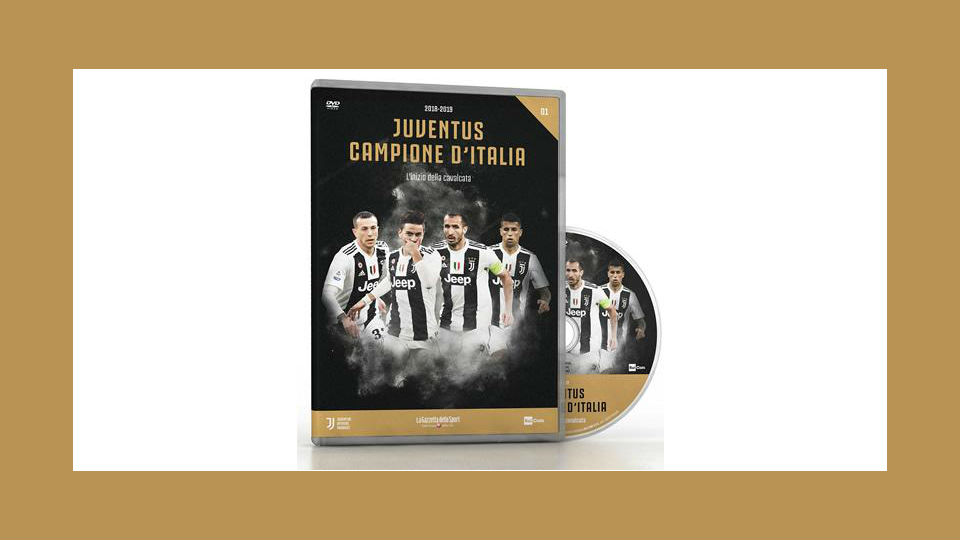 juventus campione d'italia dvd in edicola