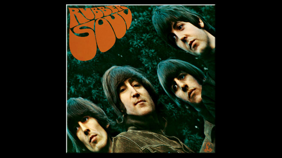 The Beatles vinyl collection Rubber Soul
