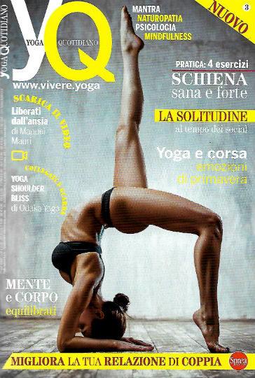 yoga quotidiano maggio 2019 in edicola
