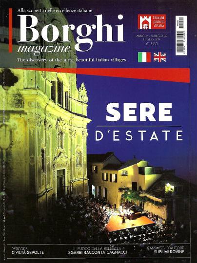 borghi magazine luglio 2019 in edicola