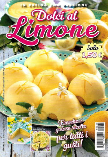 dolci al limone giugno 2019 in edicola