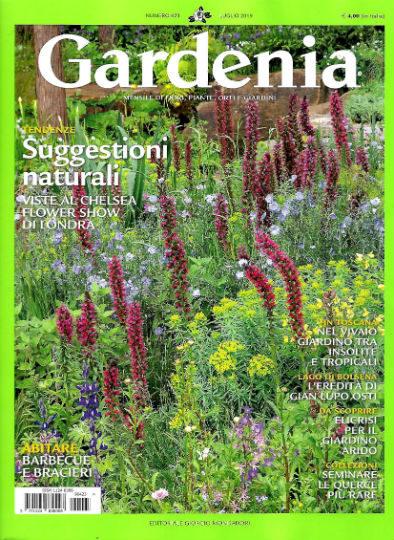 gardenia luglio 2019 in edicola