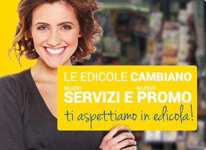 Edicola amica Modena - nuovi servizi e promo