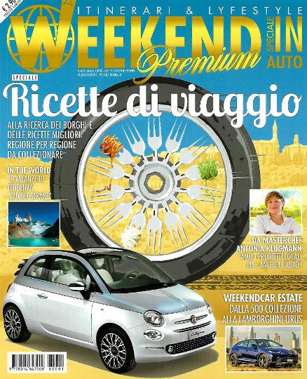weekend in auto speciale maggio 2018 in edicola