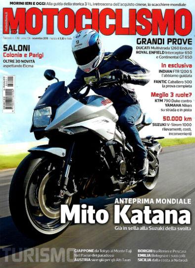 motociclismo novembre 2018 in edicola