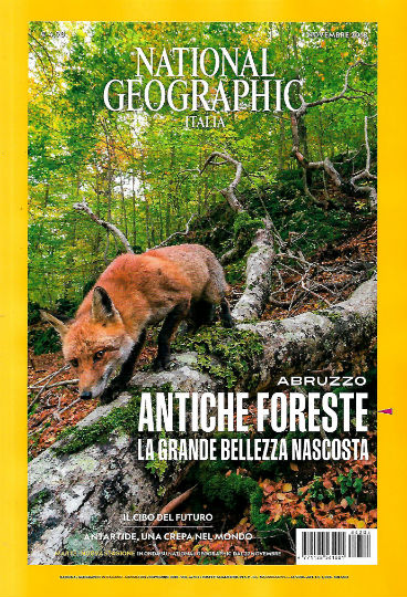 national geographic novembre 2018 in edicola