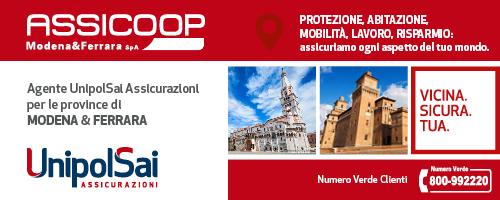 Assicoop Modena&Ferrara è Agente Generale UnipolSai Assicurazioni per Modena, Ferrara e Provincia