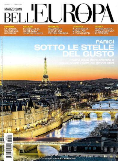 bell'europa marzo 2019 in edicola