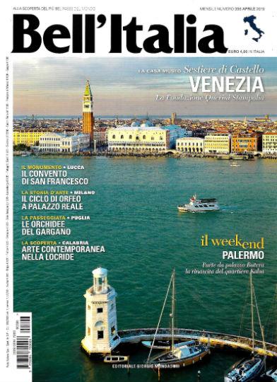 bell'italia aprile 2019 in edicola