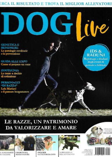 dog live marzo 2019 in edicola
