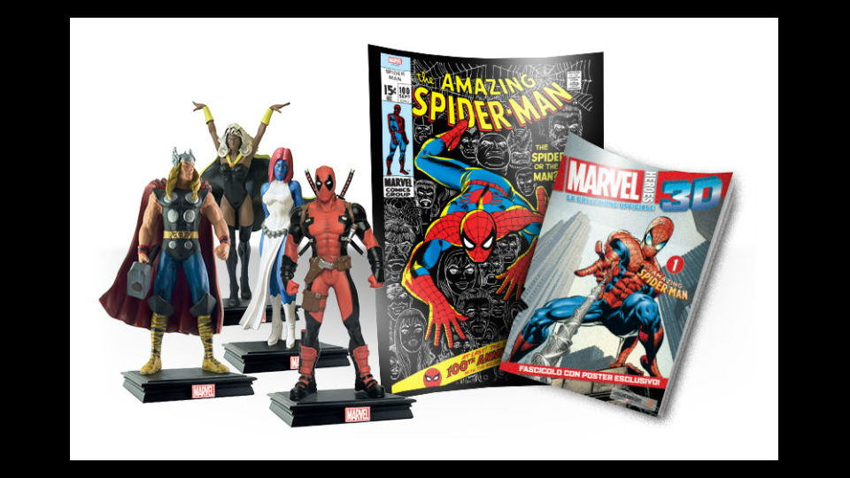 Marvel Heroes 3D edizione 2019