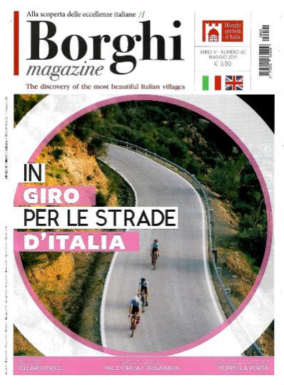 borghi magazine maggio 2019 in edicola