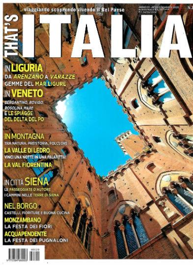 that's italia aprile 2019 in edicola