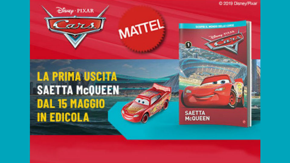 disney pixar cars collection in edicola