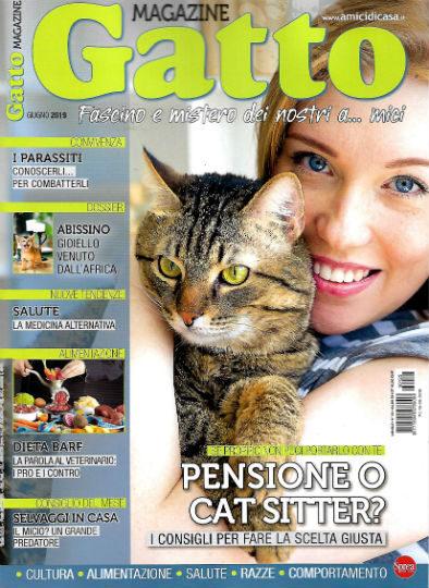 gatto magazine giugno 2019 in edicola