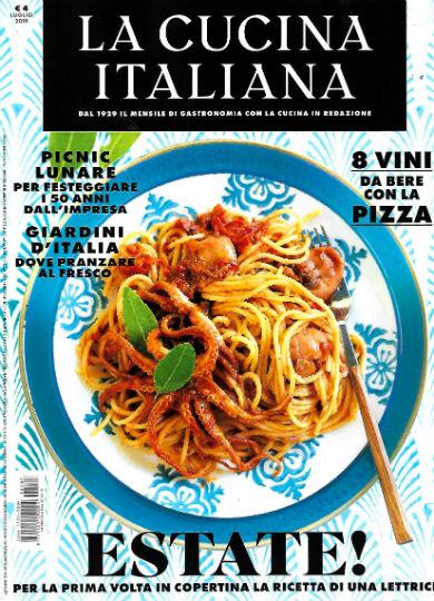 la cucina italiana luglio 2019
