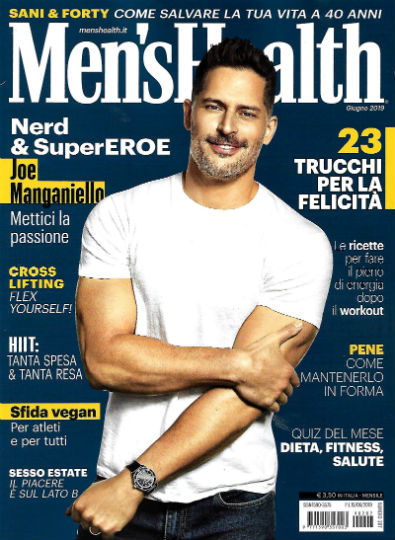 men's health giugno 2019 in edicola