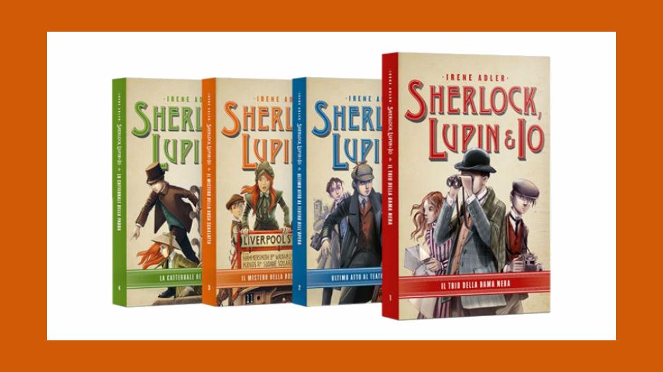 sherlock, lupin & io collana in edicola