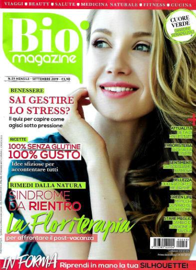 bio magazine settembre 2019 in edicola
