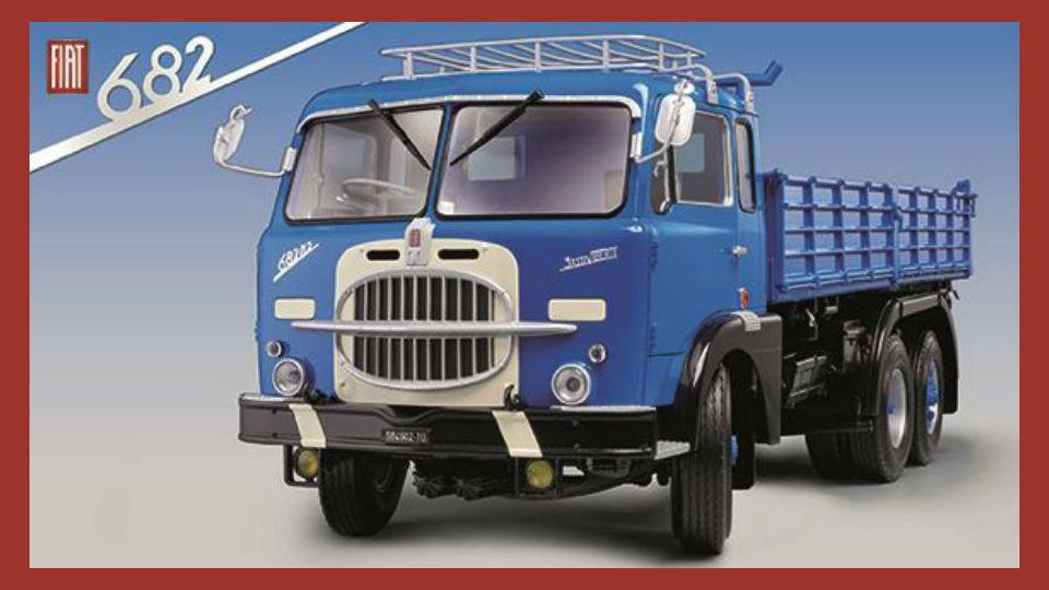 costruisci il camion FIAT 682 collezione in edicola