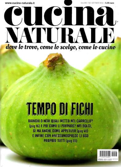 cucina naturale settembre 2019 in edicola