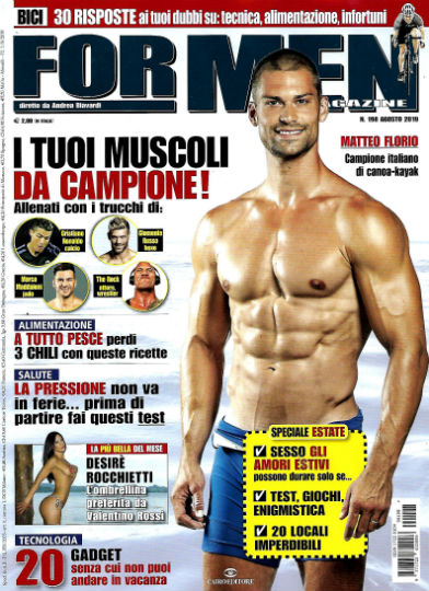 for men agosto 2019 in edicola