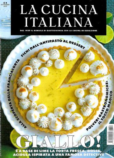 la cucina italiana settembre 2019 in edicola