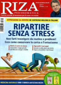 riza psicosomatica settembre 2019 in edicola