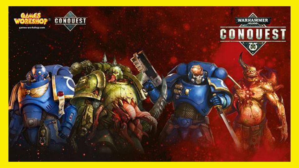 warhammer 40.000: conquest collezione in edicola