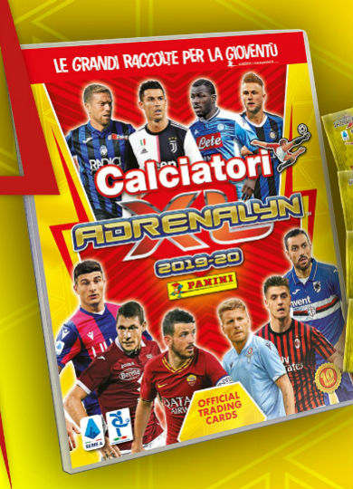 calciatori adrenalyn xl panini 2019-20