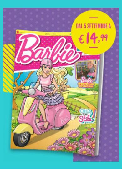 barbie magazine settembre 2019 in edicola