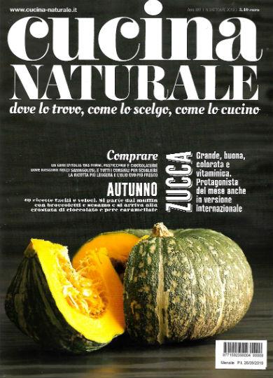 cucina naturale ottobre 2019 in edicola
