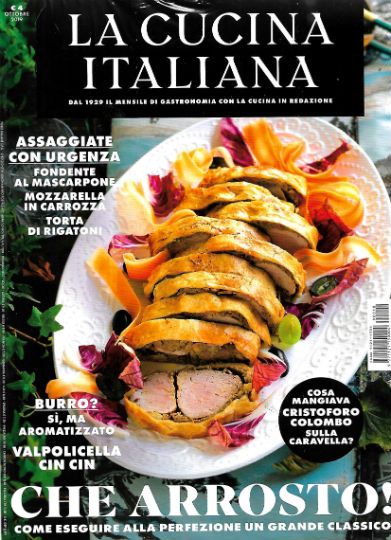 la cucina italiana ottobre 2019 in edicola