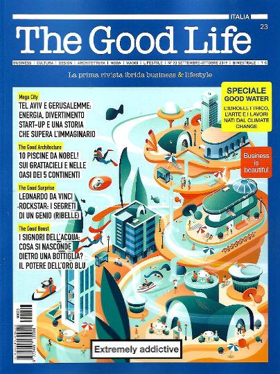 the good life settembre 2019 in edicola