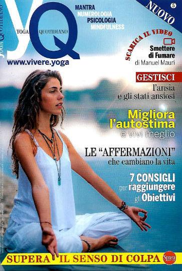 yoga quotidiano settembre 2019 in edicola