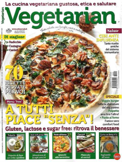 vegetarian novembre 2019 in edicola