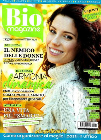 bio magazine novembre 2019 in edicola