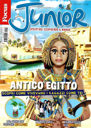 focus junior novembre 2019 in edicola