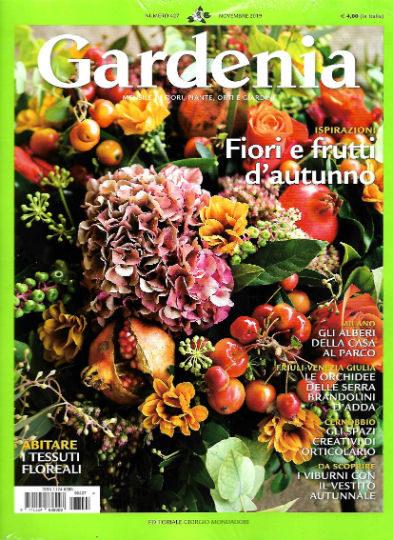 gardenia novembre 2019 in edicola