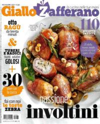 giallo zafferano novembre 2019 in edicola