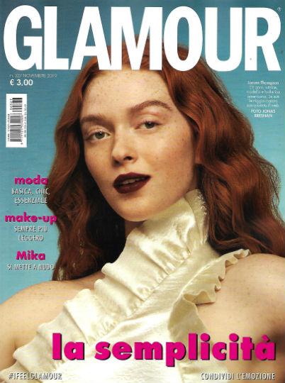 glamour novembre 2019 in edicola