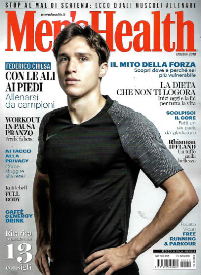 men's health novembre 2019 in edicola